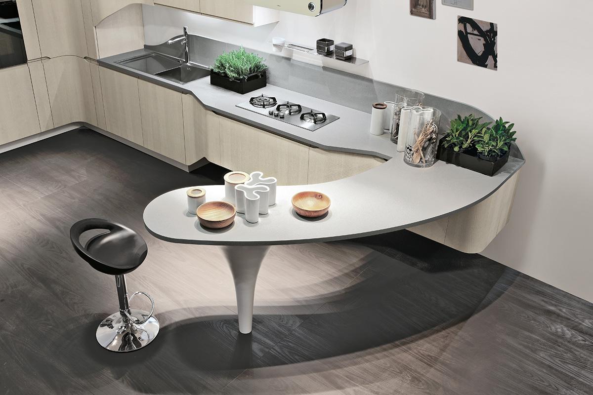 Cucina stosa bring lorenzelli arredamenti - Cucine grigio perla ...