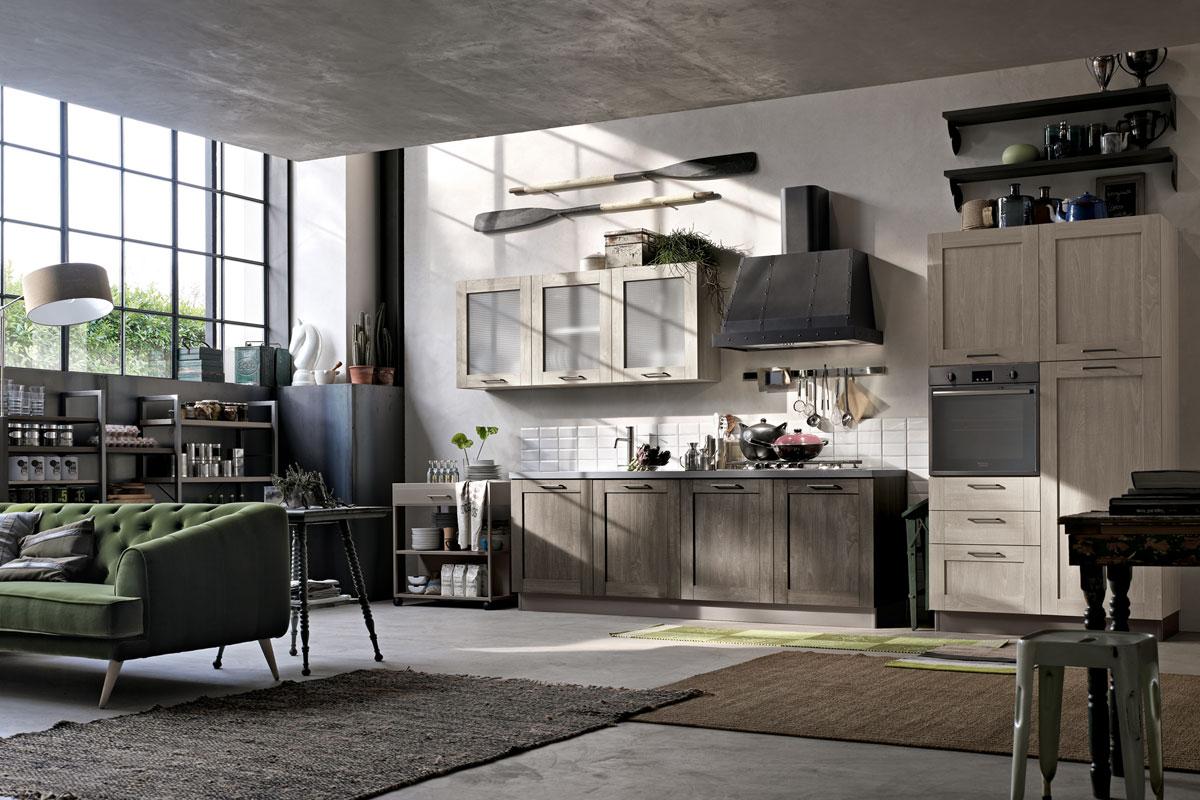 Cucina stosa city lorenzelli arredamenti for Cucine in stile