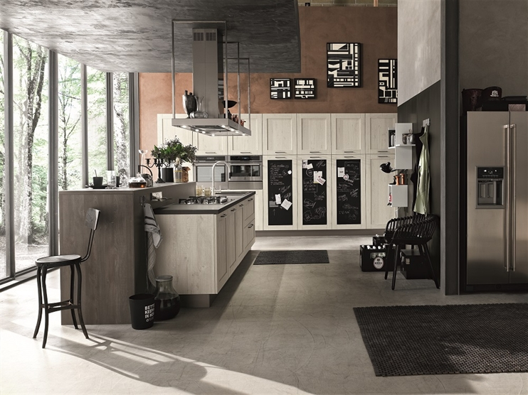 Cucina stosa city lorenzelli arredamenti - Cucine urban style ...