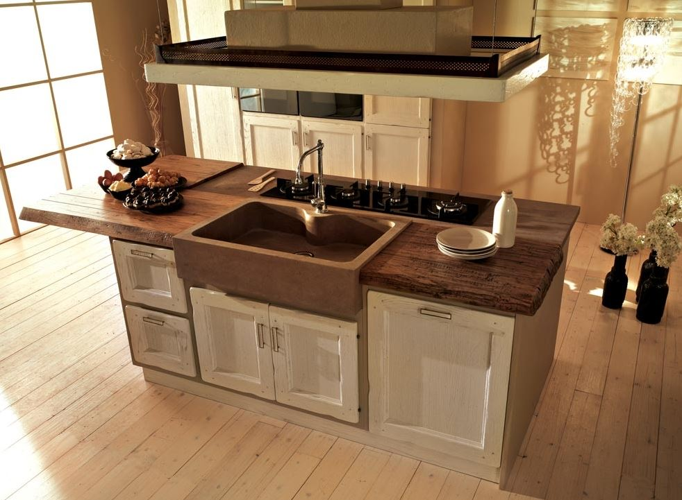 La cucina artigianale what else - Cucine sospese da terra ...