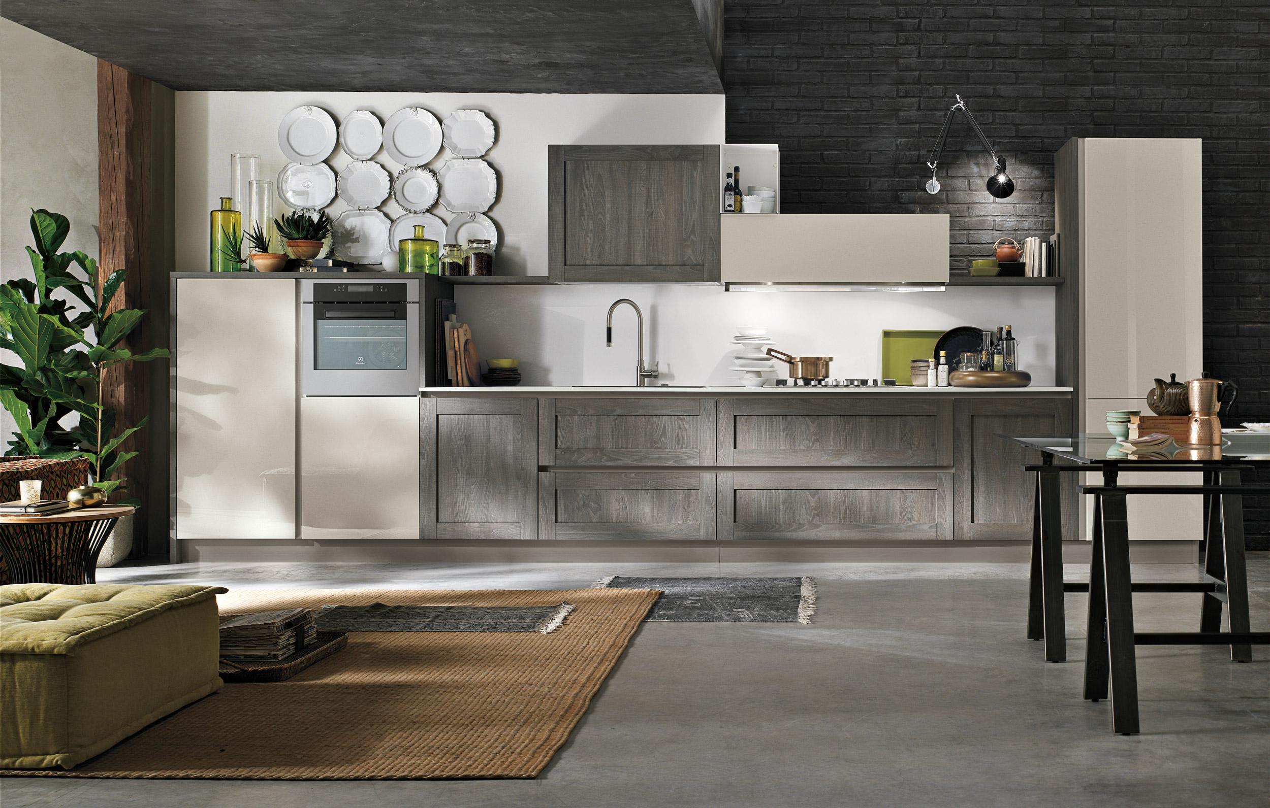 Cucina stosa aliant lorenzelli arredamenti - Cucine stosa moderne ...