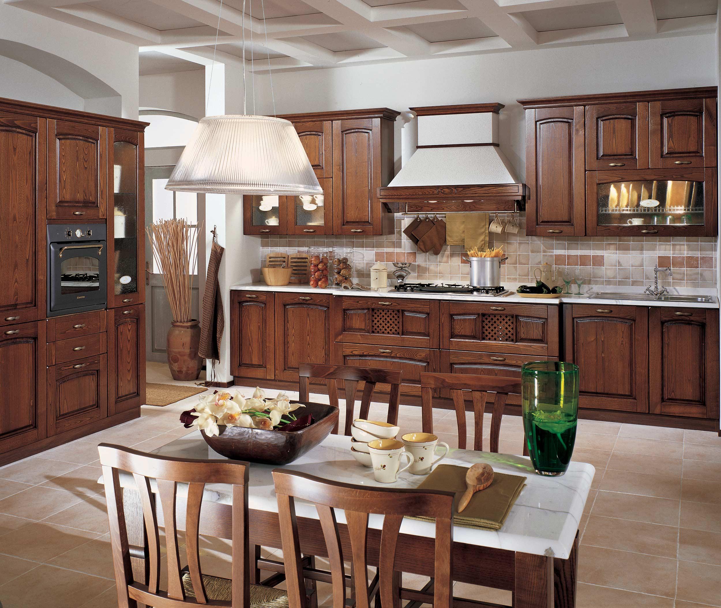 Cucina stosa focolare lorenzelli arredamenti - Cucine classiche stosa ...