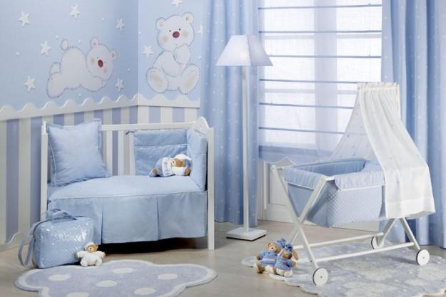 Come dipingo la cameretta idee per la casa for Idee pareti cameretta neonato