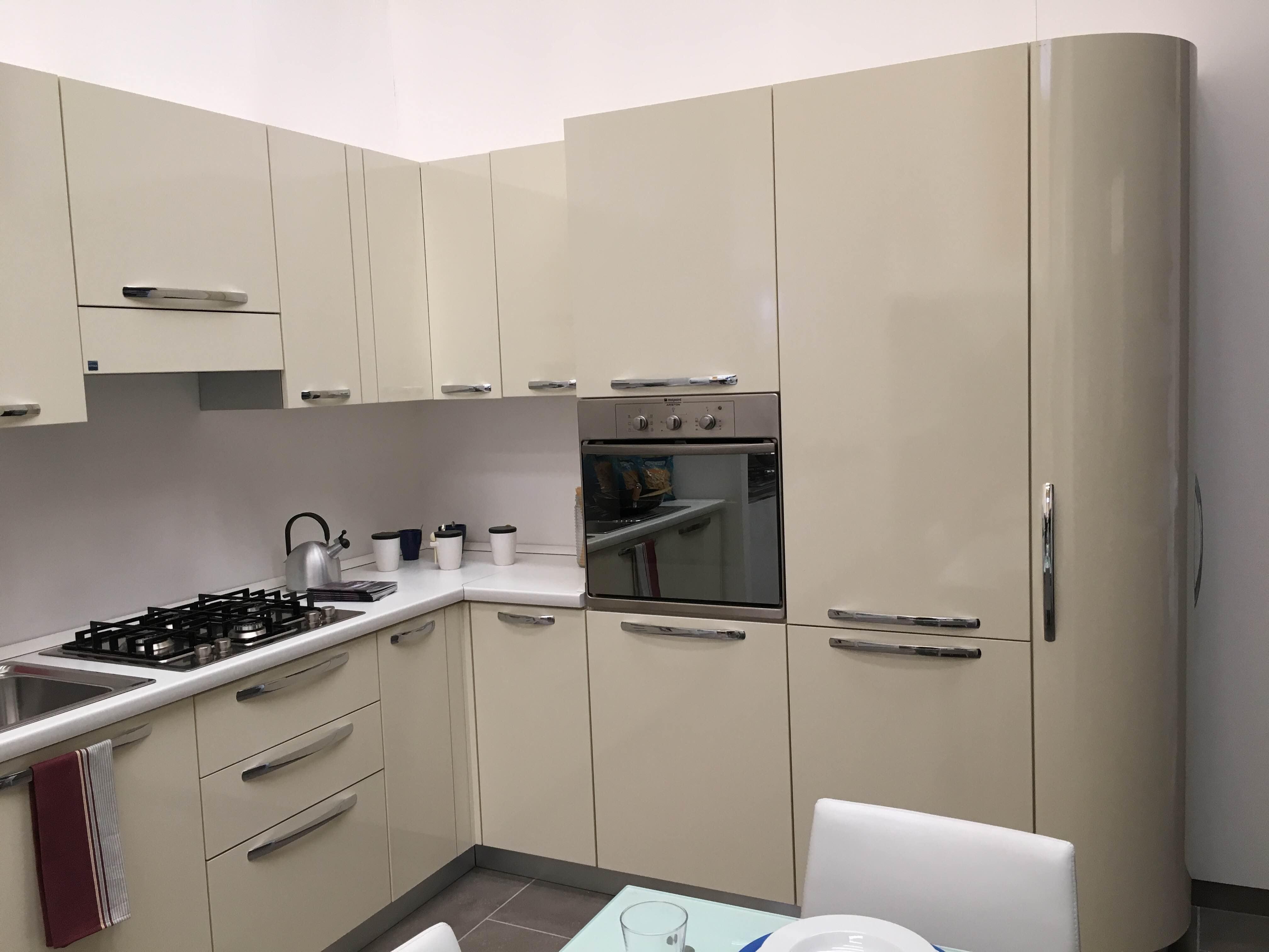 cucina stosa angolare. outlet - 40% - lorenzelli arredamenti - Cucine Stosa Outlet