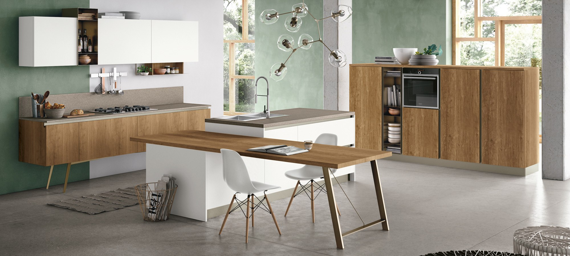 Cucina stosa infinity lorenzelli arredamenti - Immagini cucine moderne ...
