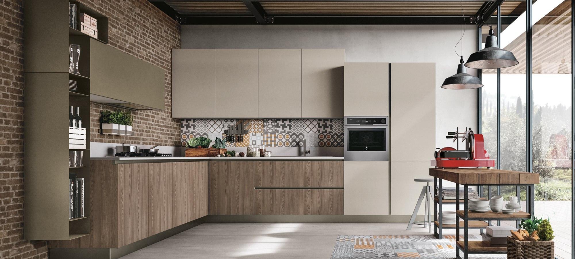 Cucina stosa infinity lorenzelli arredamenti - Cucine immagini moderne ...